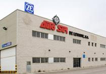 Trgovačka stranica Autosur de Levante S.A.