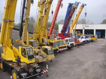 Trgovačka stranica IMC International Mobile Cranes GmbH