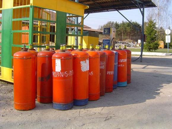 cisterna za gas ZBA LPG cylinders PROPAN BUTAN