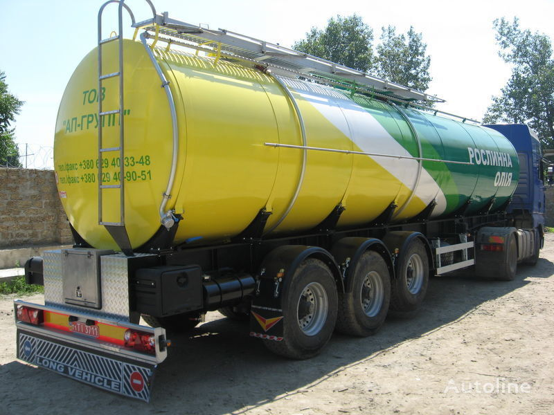 nova cisterna za prevoz hrane EVERLAST Maslovoz