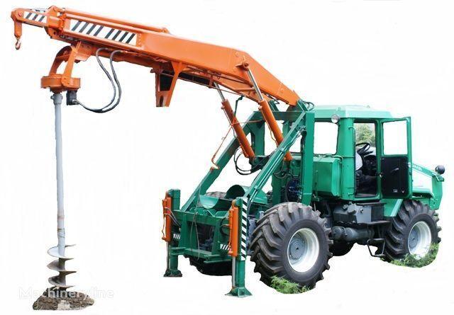 Ostala oprema HTZ Burilno-kranovaya mashina BKM-3U na baze traktorov HTZ 150K-09, H