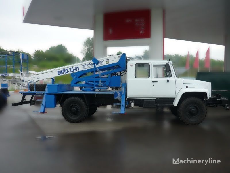 auto dizalica s korpom GAZ Sadko