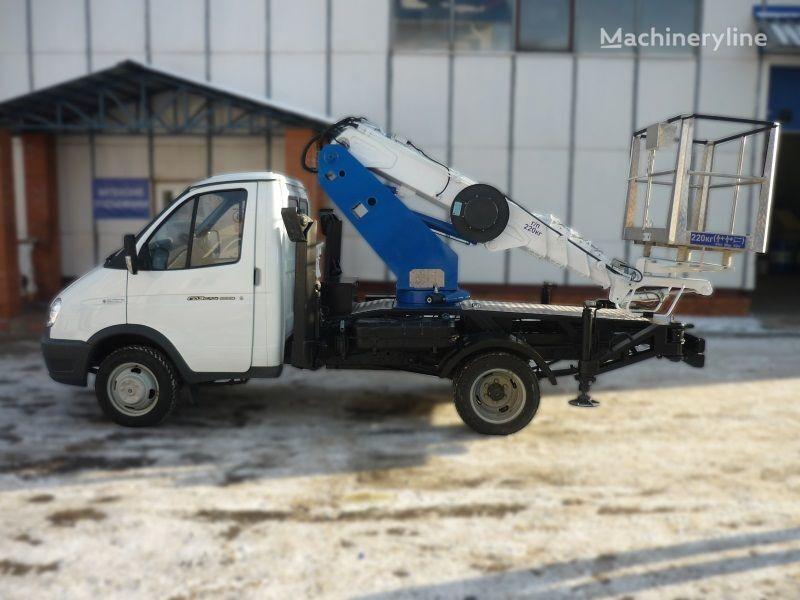 auto dizalica s korpom GAZ VIPO-12t na baze GAZEL