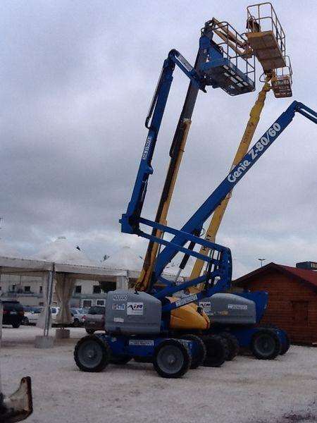 hidraulična zglobna platforma GENIE Z51 /30 JRT