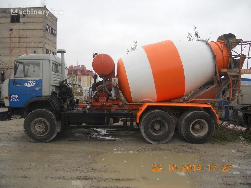 kamion s mešalicom za beton KAMAZ 53229A