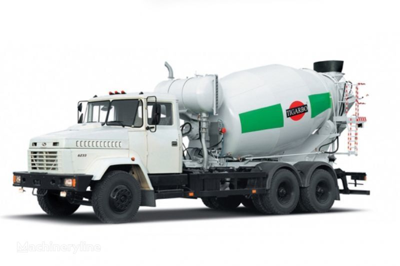 kamion s mešalicom za beton KRAZ 6233P4-TIP1