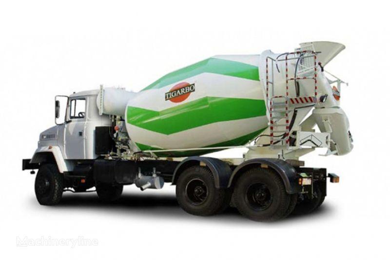 kamion s mešalicom za beton KRAZ 6233P6