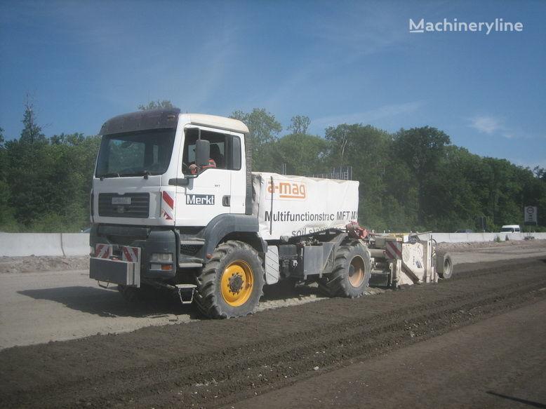 mašina za reciklažu asfalta MAN amag Recycler with Tank 8.000 Liter Polymer, Emulsion, water wit