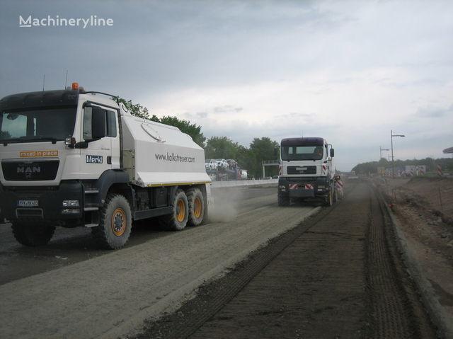nova mašina za reciklažu asfalta MAN amag cement spreader MAN TGS 33.440 - 6x6