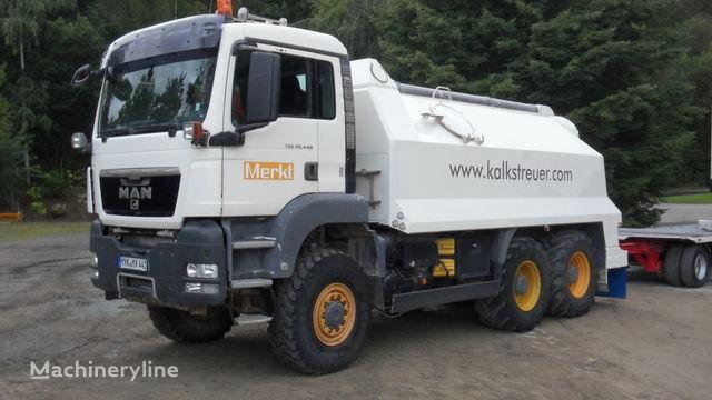 mašina za reciklažu asfalta MAN amag spreader MAN TGA 26.440 - 6x6