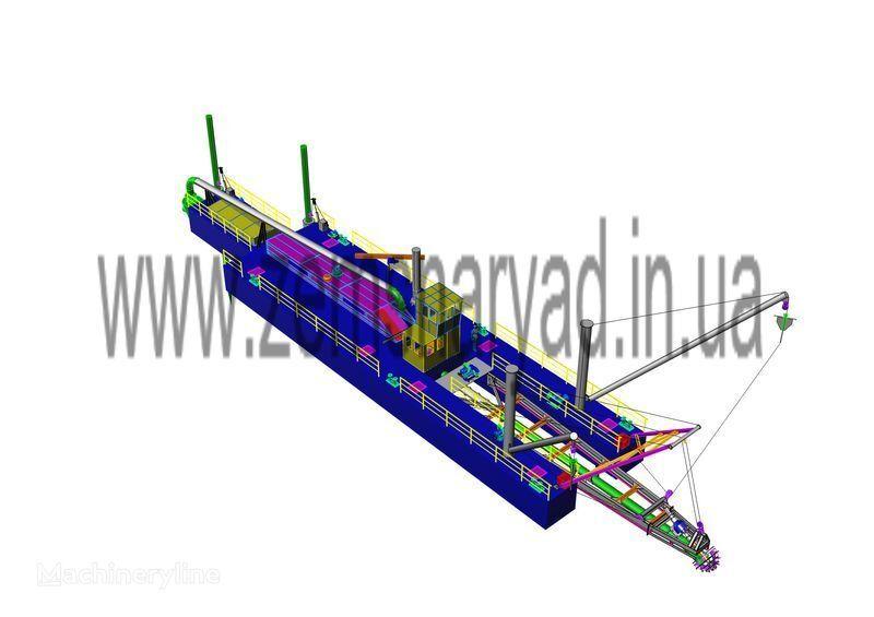 novi plovni bager NSS  6000/70-F