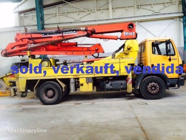 pumpa za beton MERCEDES-BENZ PUTZMEISTER 24/4, BSF12H