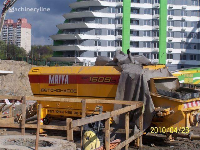stacionarna betonska pumpa MRIYA Stacionarnyy betononasos