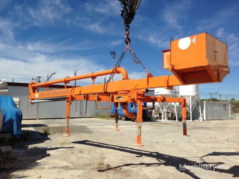 stacionarna betonska pumpa PUTZMEISTER BP12/C-55M