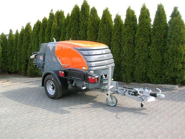nova stacionarna betonska pumpa PUTZMEISTER P- 718 PROMOCJA