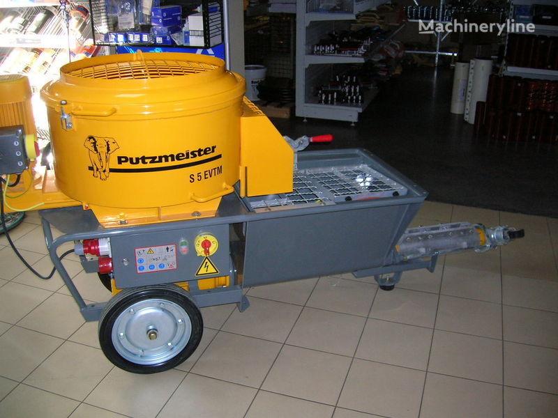 nova stacionarna betonska pumpa PUTZMEISTER S5 EV/TM