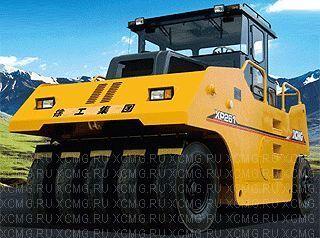 novi valjak na pneumaticima XCMG XP262