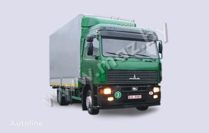 kamion s ceradom MAZ 5340A8