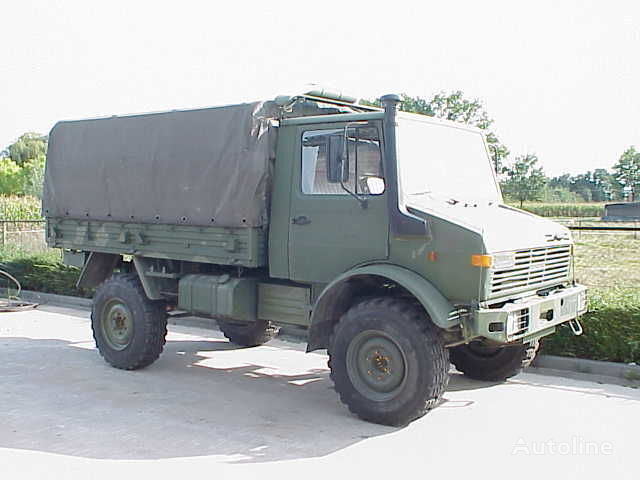 kamion s ceradom MERCEDES-BENZ UNIMOG 435/1300L