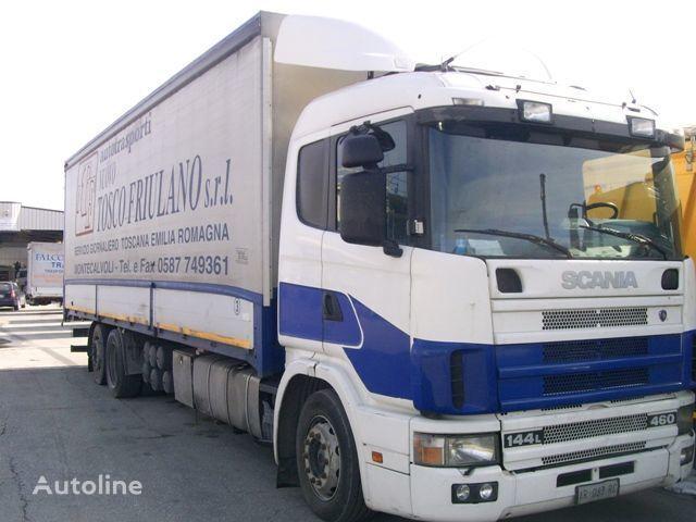 kamion s ceradom SCANIA 144L460