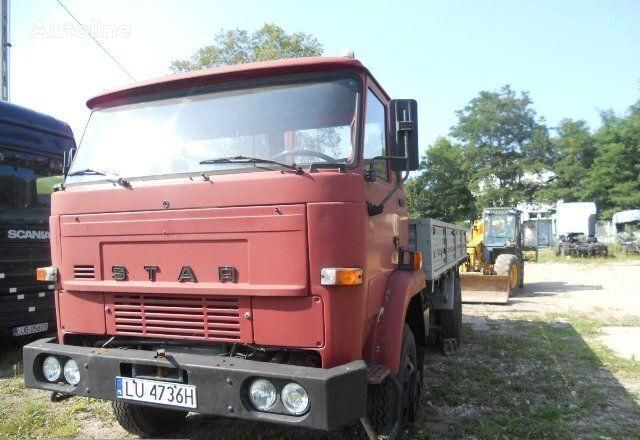 kamion s ravnom platformom STAR 1142 truck lorry pritsche
