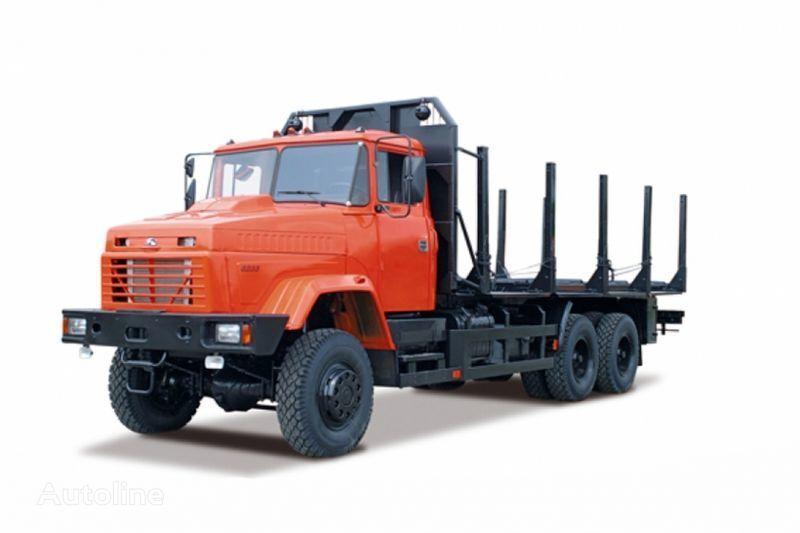 kamion za prevoz drva KRAZ 6233M6