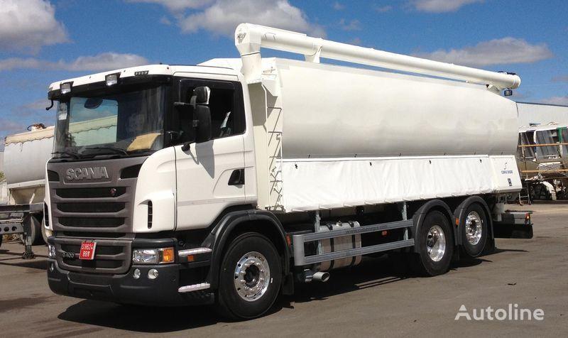 novo vozilo za stočnu hranu SCANIA 360 po rezervnim delovima