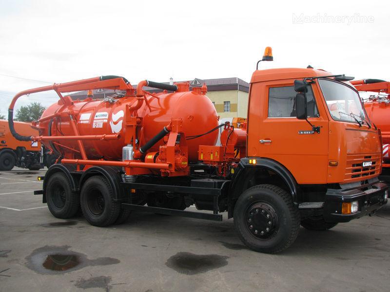 autofekalac KAMAZ Ilososnaya mashina KO-507A-3