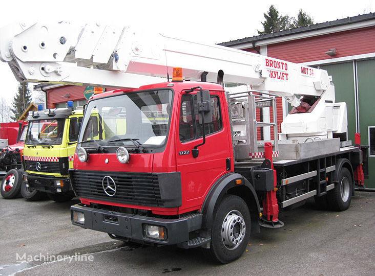 automehaničke lestve MERCEDES-BENZ 1722 4X2WD