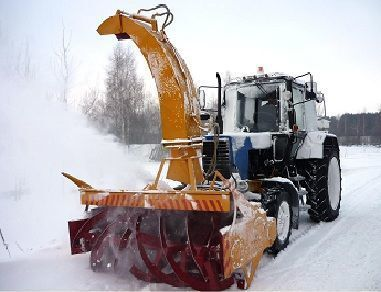 novi čistač snega MTZ OFR 200