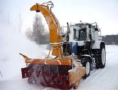 novi čistač snega MTZ OFR- 200