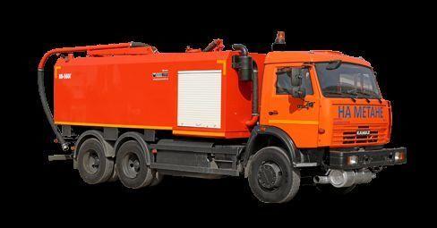 kombinovano vozilo za čišćenje kanalizacije KAMAZ KO-560G