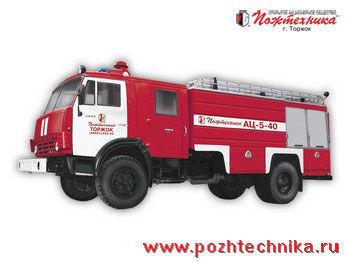 vatrogasno vozilo KAMAZ AC-5-40