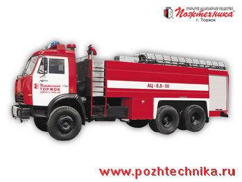 vatrogasno vozilo KAMAZ AC-8,8-50
