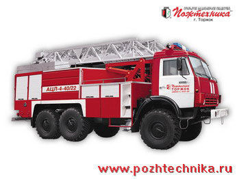 vatrogasno vozilo KAMAZ ACL-4-40/22