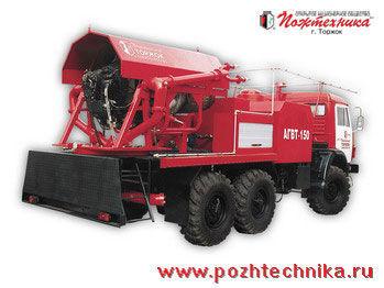 vatrogasno vozilo KAMAZ  AGVT-150 Avtomobil gazovogo tusheniya