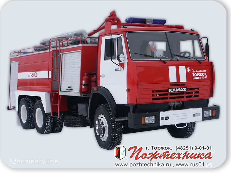 vatrogasno vozilo KAMAZ AP-5000 Avtomobil poroshkovogo tusheniya