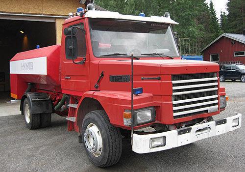 vatrogasno vozilo SCANIA T-112H