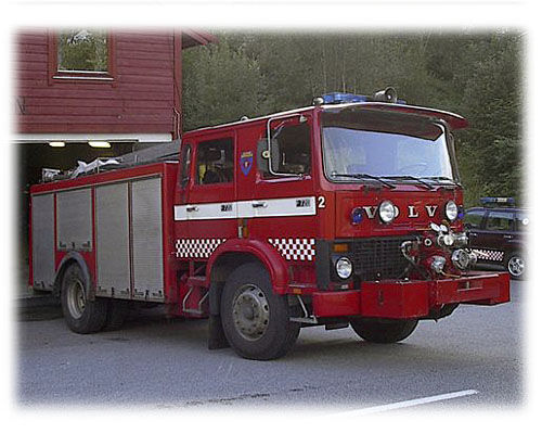 vatrogasno vozilo VOLVO F-720
