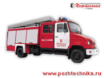 vatrogasno vozilo ZIL  AC-1,3-4/400