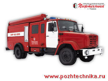 vatrogasno vozilo ZIL ANR-60-800 Avtomobil nasosno-rukavnyy