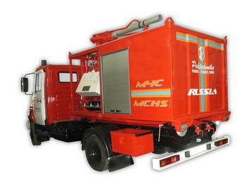 vatrogasno vozilo ZIL PSK Pozharno-spasatelnyy kompleks s konteynerami tyazhelogo tipa