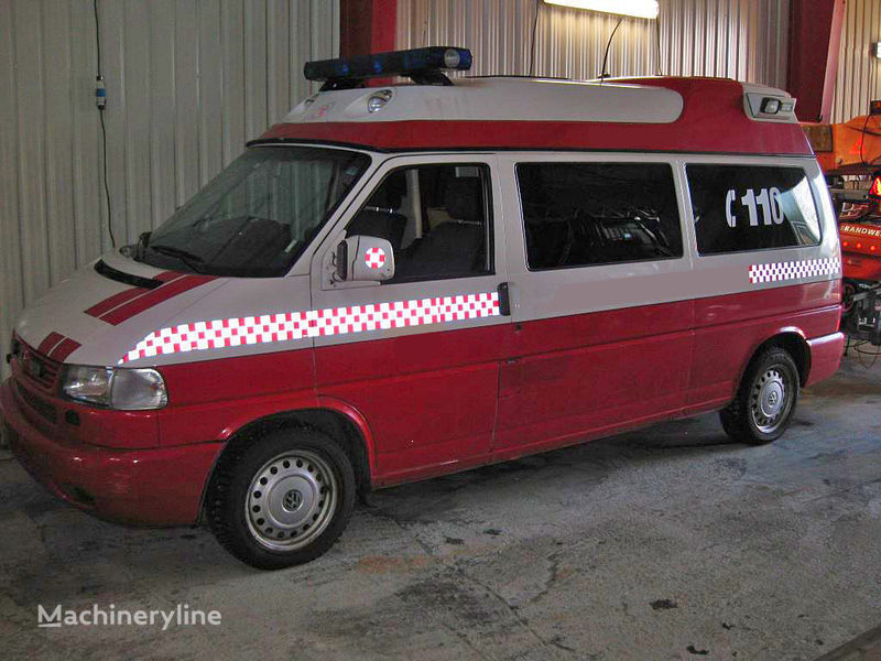 vatrogasno vozilo volkswagen T-4