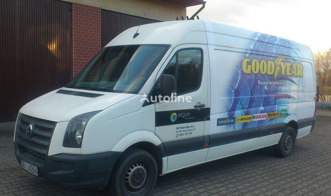 minibus furgon VOLKSWAGEN CRAFTER 2,5 TDI, MAX, MAXI , KLIMA
