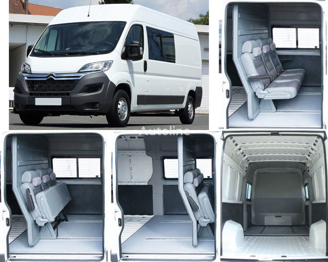 novi teretno-putnički minibus CITROEN Jumper