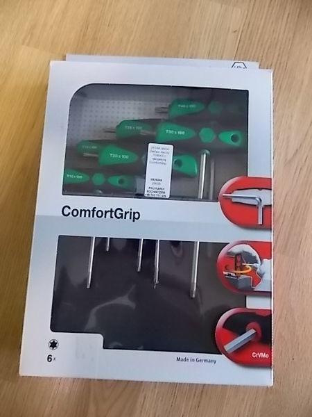 alat za autoservis Zestaw kluczy TORX z rękojeścią ComfortGrip.