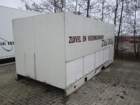 karoserija furgona DIVERSE container