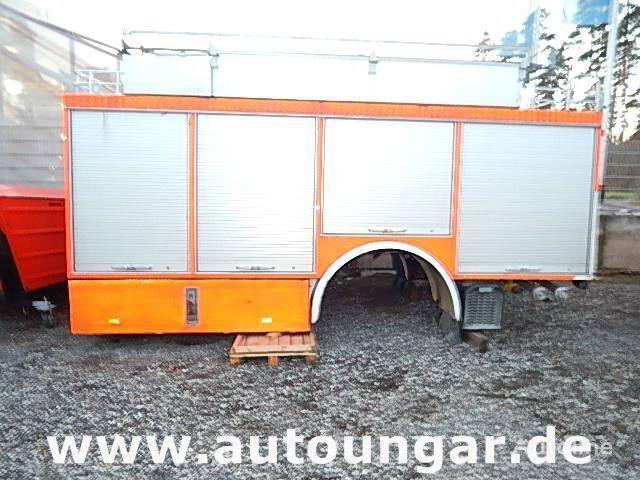 karoserija furgona MERCEDES-BENZ Schlingmann Feuerwehr Aufbau m Rosenbauer Pumpe 24/8