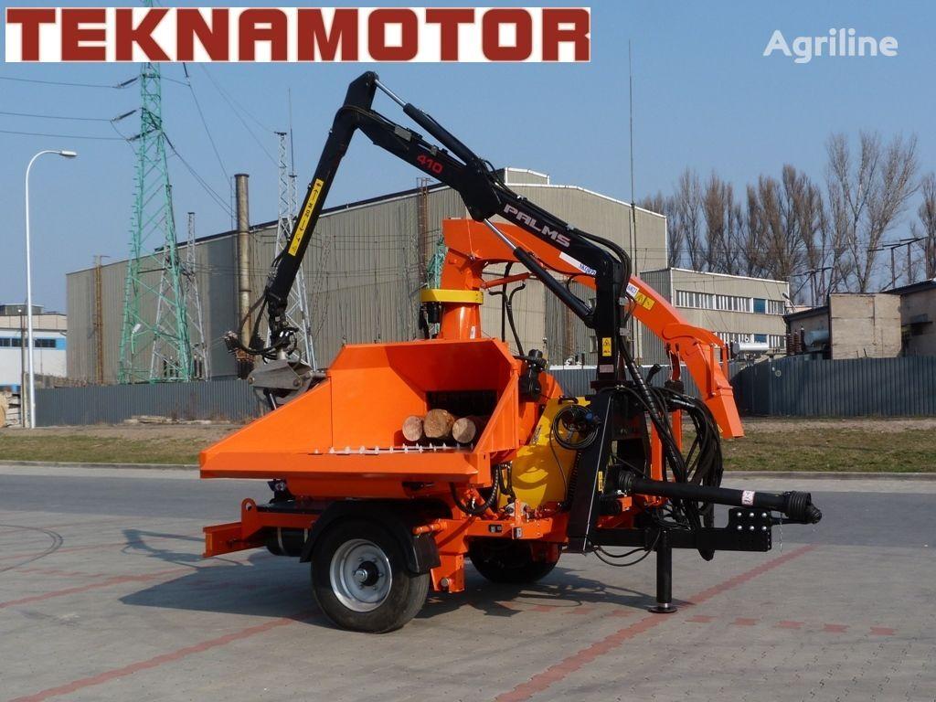 nova drobilica za drvo TEKNAMOTOR Skorpion 500 RB