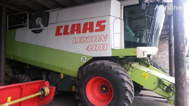 kombajn CLAAS Lexion 480